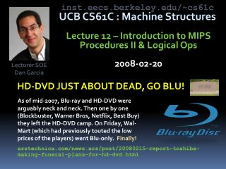 Hd-dvd  just about dead, go  blu !