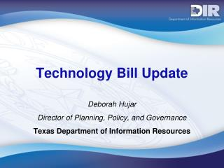 Technology Bill Update