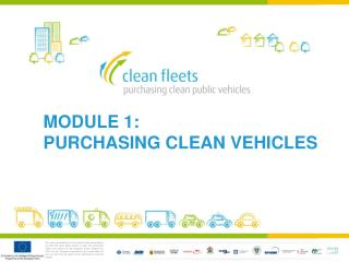 MODULE 1:  PURCHASING CLEAN VEHICLES