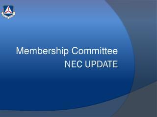 NEC  Update