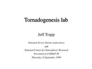 Tornadogenesis lab