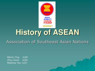 History of ASEAN