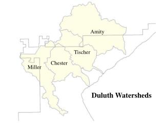 Duluth Watersheds
