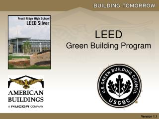 LEED Green Building Program