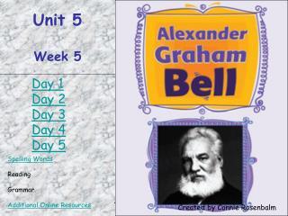 Unit 5 Week 5