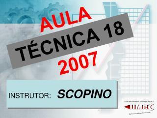 AULA  TÉCNICA 18 2007