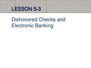 LESSON 5-3