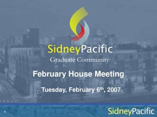 February House Meeting