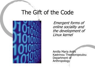 The Gift of the Code