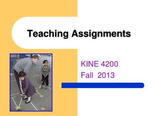 Teaching Assignments