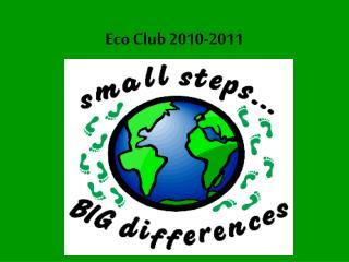 Eco Club 2010-2011