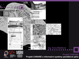 Cíl projektu CARARE