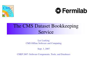 The CMS Dataset Bookkeeping Service