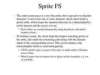 Sprite FS