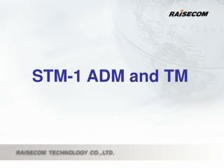 STM-1 ADM and TM