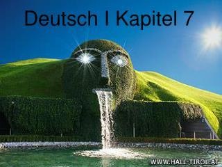 Deutsch I Kapitel 7