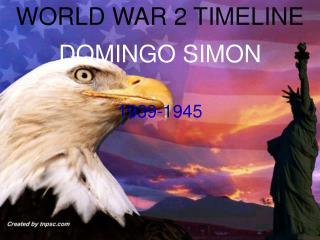 WORLD WAR 2 TIMELINE