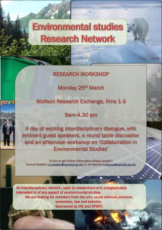 Environmental studies Research Network