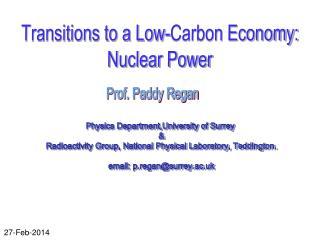 Physics Department,University of Surrey  &