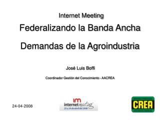Internet Meeting