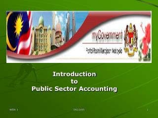 Introduction  to  Public Sector Accounting