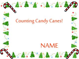 Counting Candy Canes!