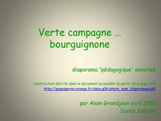Verte campagne … bourguignone
