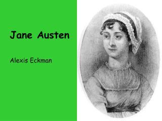Jane Austen Alexis Eckman
