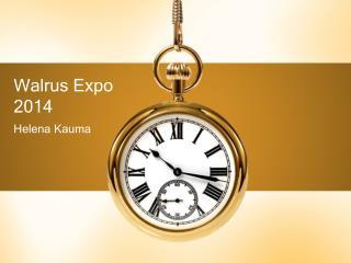 Walrus Expo 2014