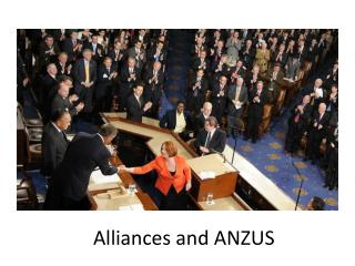 Alliances and ANZUS