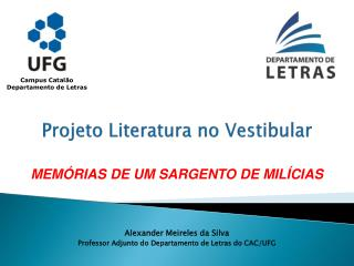 Projeto Literatura no Vestibular