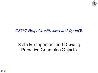 CS297 Graphics with Java and OpenGL