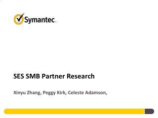 SES SMB Partner Research