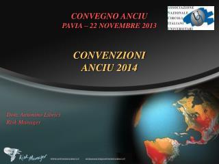 CONVENZIONI ANCIU 2014