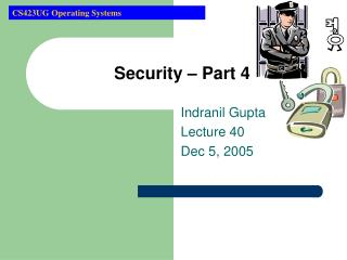 Security � Part 4