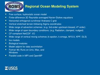 Regional Ocean Modeling System