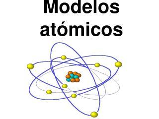 Modelos at�micos