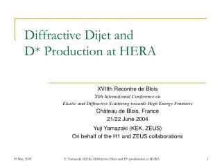 Diffractive Dijet and  D* Production at HERA