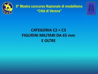 CATEGORIA C2 + C3 FIGURINI MILITARI  D A 65 mm E OLTRE