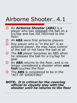 Airborne Shooter�4.1