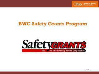 BWC Safety Grants Program