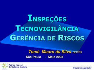 INSPE  ES  TECNOVIGIL NCIA GER NCIA DE RISCOS