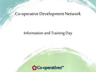 Co-operative Development Network