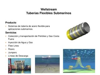 Wellstream Tuberías Flexibles Submarinos