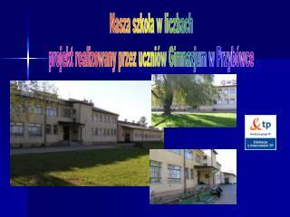 Nasza szkoła w liczbach projekt realizowany przez uczniów Gimnazjum w Przybówce