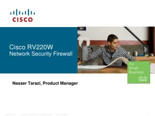 Cisco RV220W Network Security Firewall