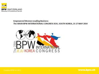 International Congress Center, Jeju, Südkorea