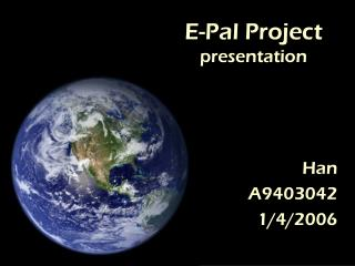 E-Pal Project presentation