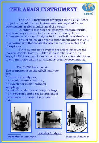 THE ANAIS INSTRUMENT