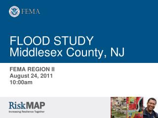 FLOOD STUDY Middlesex County, NJ